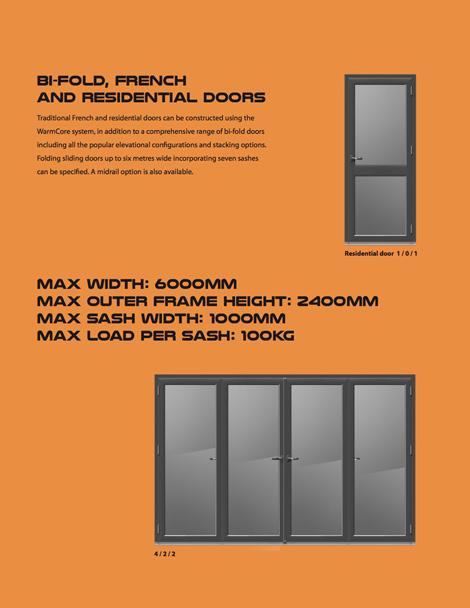 warmcore bifold doors