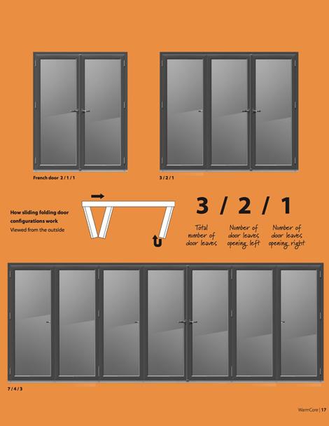 warmcore bi-fold doors