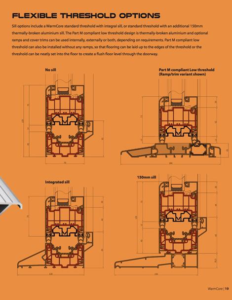 warmcore bifold doors options