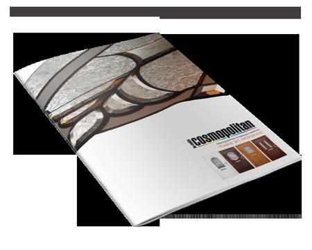 cosmopolitan brochure magazine