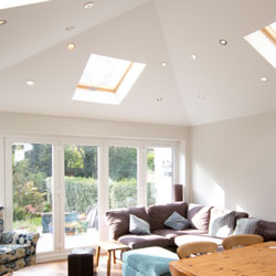 Guardian warm roof in cheshire