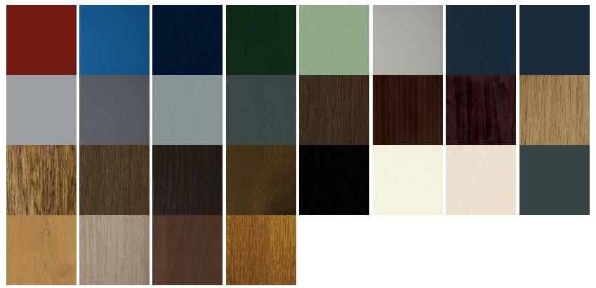 vertical windows colours