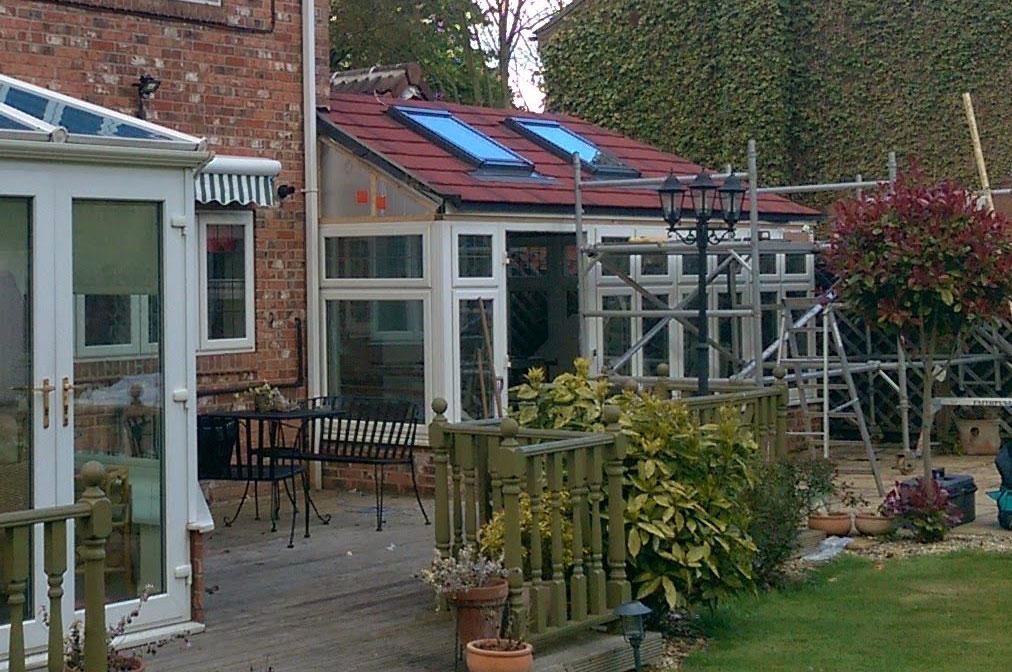 installing guardian warm roof
