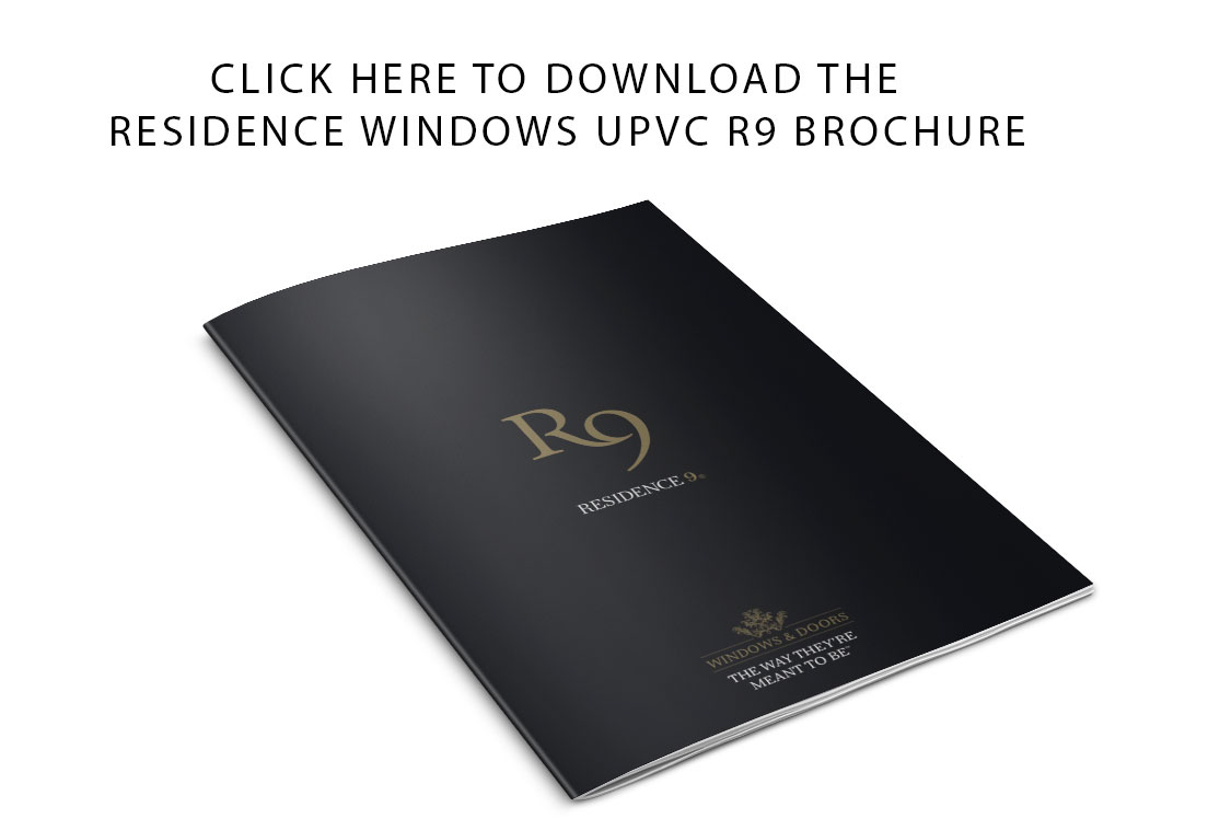 residence windows upvc R9 brochure